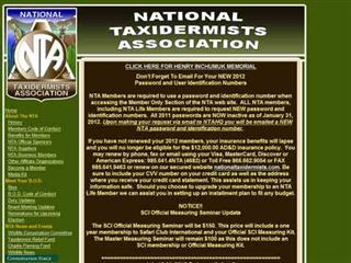 nationaltaxidermists.com